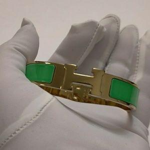 Authentic Hermes Clic H Bracelet